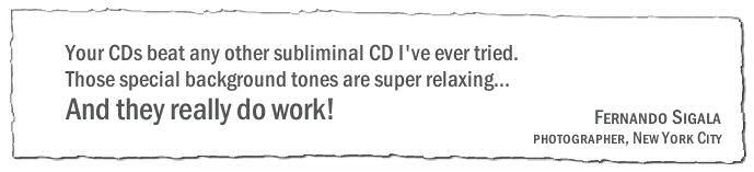 Subliminal MP3s